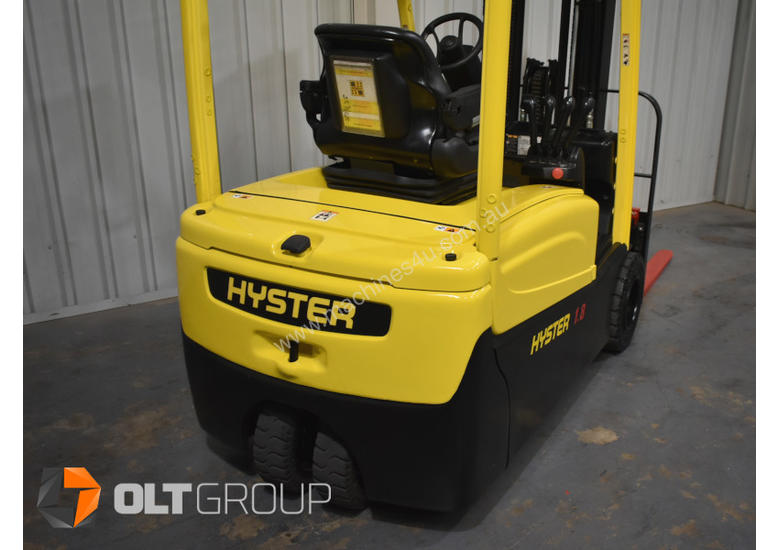 Hyster 3 Wheel Battery Electric Forklift 1.8 Tonne 4 Functions 2013 Model Container Mast 4.6m Lift