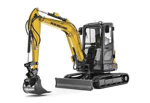 New Holland E37C (Canopy or Cab) Compact Excavator
