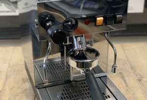 GRIMAC LA UNO 1 GROUP STAINLESS STEEL ESPRESSO COFFEE MACHINE