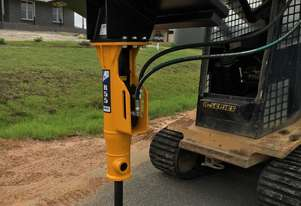 Himac Skid Steer Rock Breaker