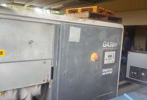 Atlas Copco Air compressor Rotary Screw 30kw 197CFM