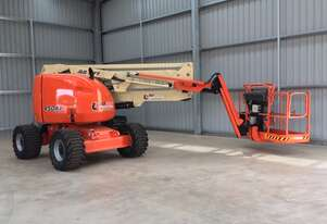 JLG 450AJ 45ft Articulating Boom Lift Hire Orange and Central West NSW Knuckle Boom Hire