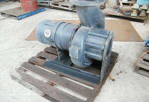 Grunfos trash pump   3 ph elect