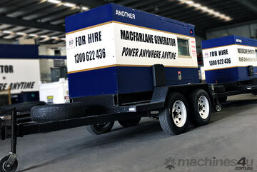 45kVA Trailer Mount Diesel Generator for   Seven Hills NSW