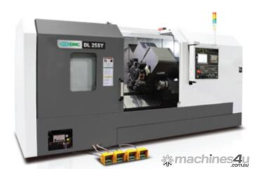 DMC DL S SERIES (Sub spindle / Y axis / Live Tooling) - DL 25SY (Made In Korea)
