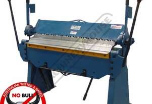 PB-420 Manual Panbrake 1250 x 2.0mm Mild Steel Bending Capacity Removable Individual Bending Fingers