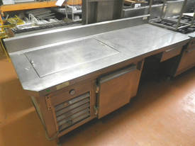 Used Pizza Bar, Sandwich Prep Bench - picture0' - Click to enlarge