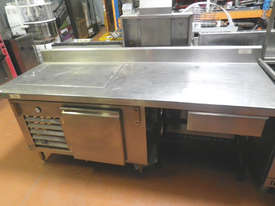 Used Pizza Bar, Sandwich Prep Bench - picture2' - Click to enlarge