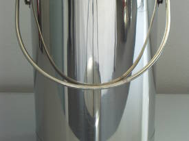 Buckets with Lid - 316 Stainless Steel