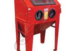 SB-375 Heavy Duty Sandblasting Cabinet Inside Cabinet 940 x 600 x 340-580mm (L x W x H) Includes Int