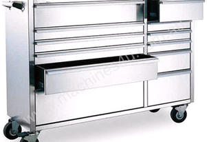 ROLLER CABINET 12 DRAWER S/STEEL 1370MM