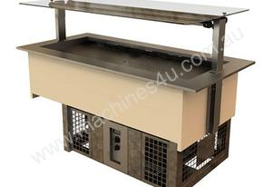 FPG GTC-04 Gantry for Self Serve Refrigerated Wells - 4 Pan