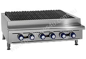 Imperial 4 Burner Counter Top Gas Radiant Char Grill