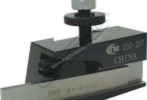 PART-QA-140 Quick Change Toolpost Holder - PartingStd 150-170mm Centre Height Suits Model QA-140 Too