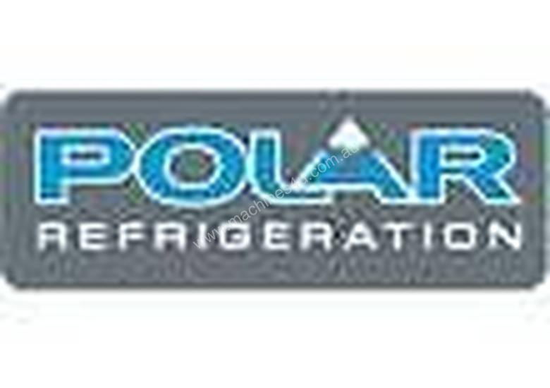 Polar CF759-A - Bar Display Cooler Black Double Sliding Doors