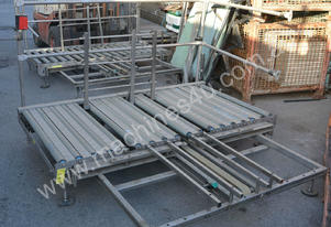 Powered roller conveyor 750mm x 1850mm