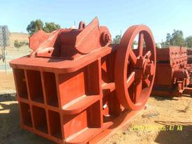 JACQUES 30 x 18 DOUBLE TOGGLE JAW CRUSHER