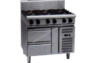 Waldorf 800 Series RN8600G-RB - 900mm Gas Cooktop `` Refrigerated Base