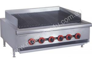 Gasmax Six Burner Char Grill Top