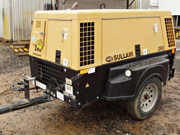 SULLAIR 260DPQ 260CFM