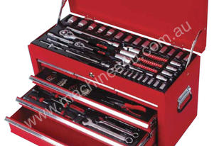 TOOLKIT 6 DRAWER CHEST AF & METRIC 117PC