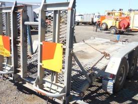 ALLYWELD 2006 TAG 2 5 TON GALVANISED PLANT TRAILER - picture2' - Click to enlarge