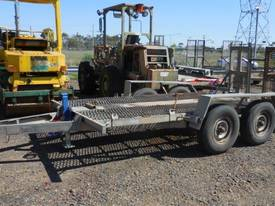 ALLYWELD 2006 TAG 2 5 TON GALVANISED PLANT TRAILER - picture0' - Click to enlarge
