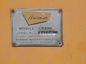 WARMAN MK4 8 TON TRACTOR CRANE - picture9' - Click to enlarge