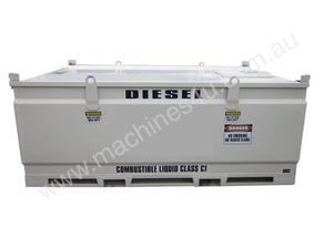3000 LITRE SELF BUNDED DIESEL & OIL FUEL TANK