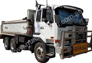 Nissan UD CW385 Tipper + Cockrell Box, call EMUS