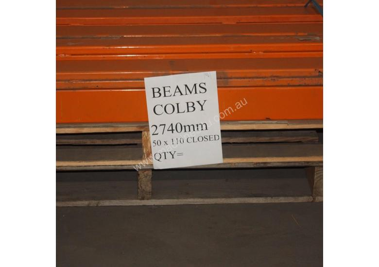 Used Colby 2740MM 50 X 110MM CLOSED Racking in Hindmarsh, SA Price: $ ...