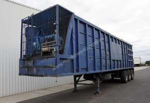 1985 Thiess 40ft Waste Ejector Trailer