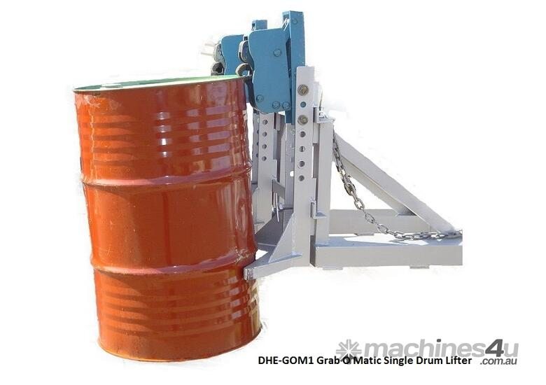 Grab O Matic Single Drum Lifter GOM1