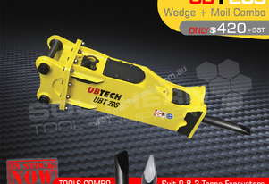 UBT20S Moils tools combo for Hydraulic Hammer