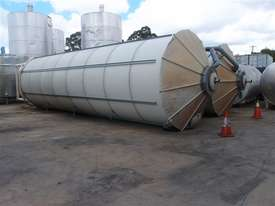 Silo - Mild Steel - Capacity 50 Cubic Mtrs - picture0' - Click to enlarge