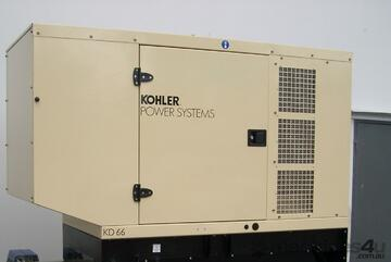Kohler KD66IV 66kVA Standby Power Diesel Generator with 180L Tank