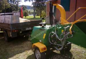 8 IINCH, 50 HP, 4 CYCLINDER DIESEL WOOD CHIPPER