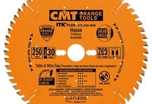 CMT ITK Plus Crosscut Blade - 300mm - 72 Tooth