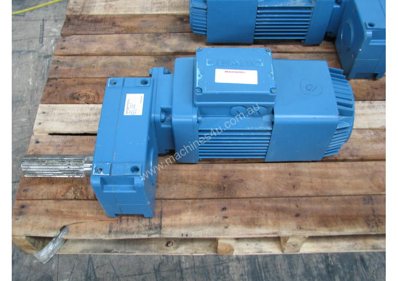 Used Demag Demag Electric Geared Travel Motor 0 4kw 415v