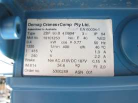Demag Electric Geared Travel Motor - 0.4kW 415V - picture3' - Click to enlarge