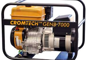 Cromtech Petrol 8.5kVA, powered by Subaru