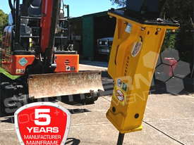 UBT10S Silence Hydraulic Hammer Rock Concrete Breaker ATTUBT - picture1' - Click to enlarge