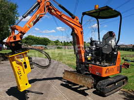 UBT10S Silence Hydraulic Hammer Rock Concrete Breaker ATTUBT - picture2' - Click to enlarge