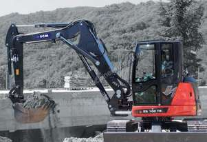 2018 ECM ES100 TR LONG REACH EXCAVATOR