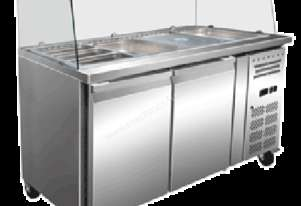 Exquisite SBC450H Two Door Salad / Noodle Bar 1500W
