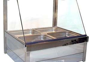 Roband C22RD Curved Glass Hot Food Bar