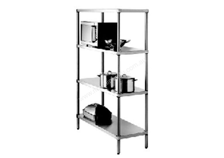 Simply Stainless SS17.1500SS Adjustable 4 Tier Shelving - 1500mm