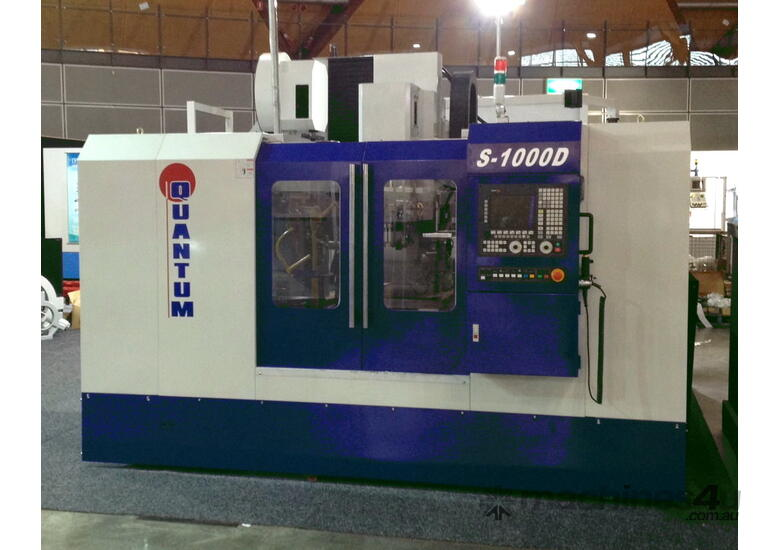Quantum S Series Vertical machining Centres from 1000mm up to 4000mm in X