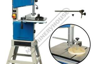 BP-255 Wood Band Saw & Circle Cutting Attachment Package Deal 2 Blade Speeds - 400 & 800m/min 245mm