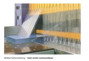 Schelling  Beam  Saw  Safety  Curtain